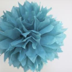 3 Small Tissue Paper Pom Poms Choose your Color or Mix Colors